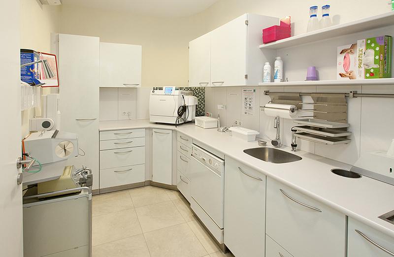 Picture of the sterilization area